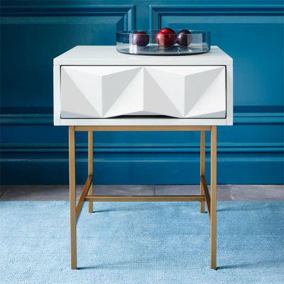 origami bedside table